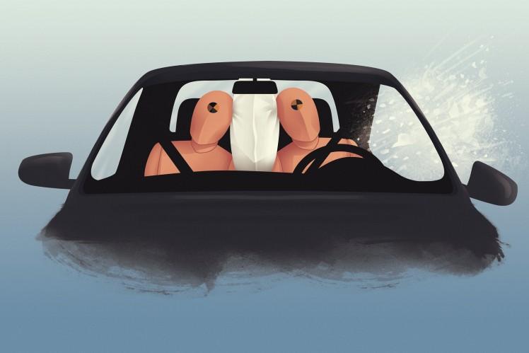 Mittlerer Airbag