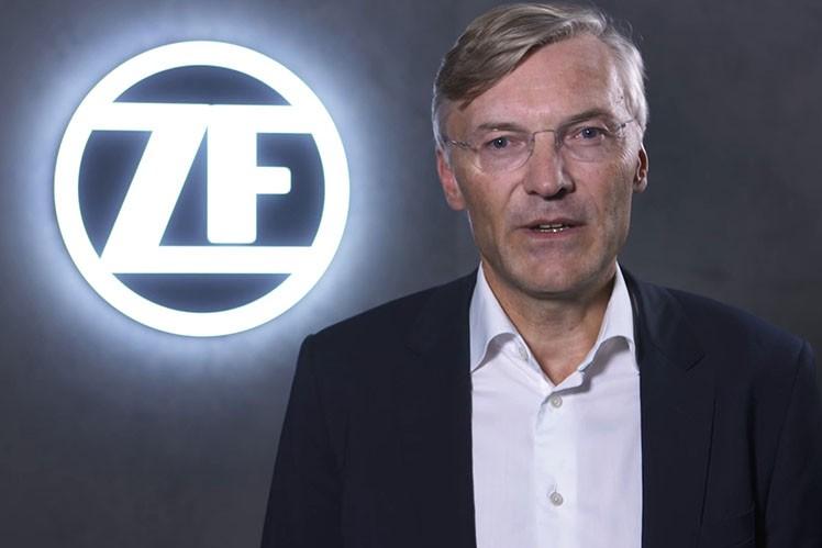 Wolf-Henning Scheider, ZF-CEO, at IAA 2018